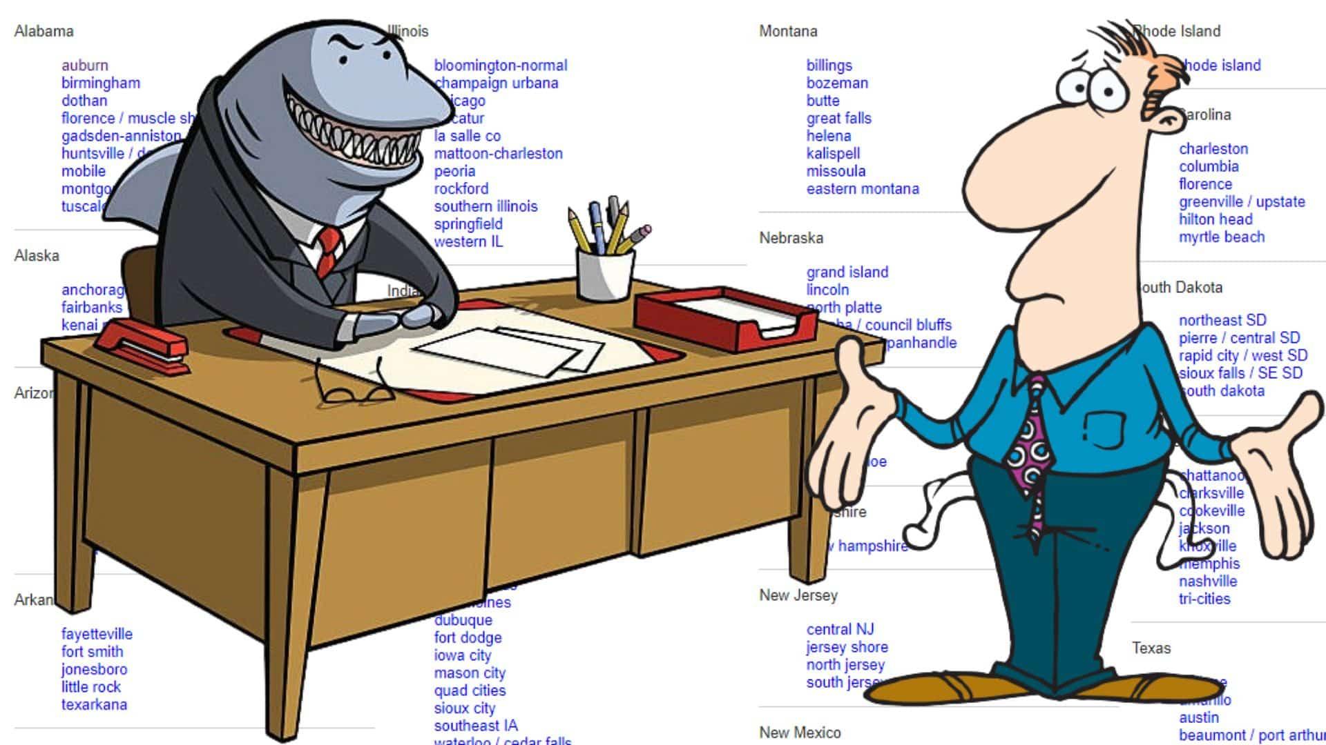 real craigslist loan sharks