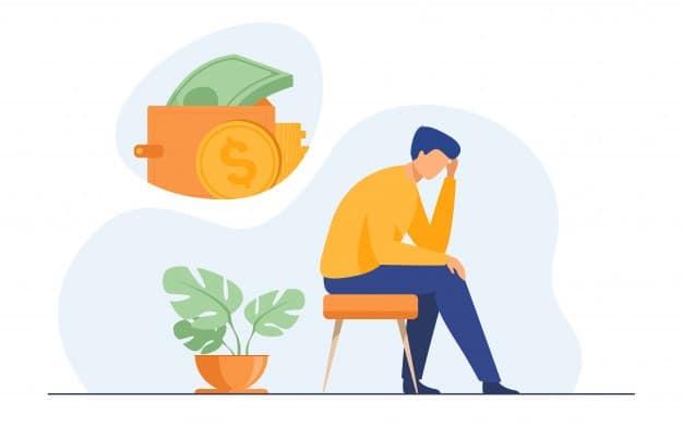 depressed due to bad credit loan sharks